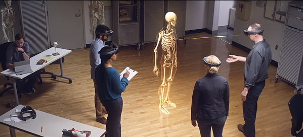 Image from Microsoft HoloLens