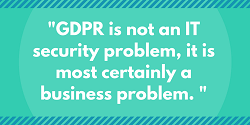 GDPR risk is a business problem